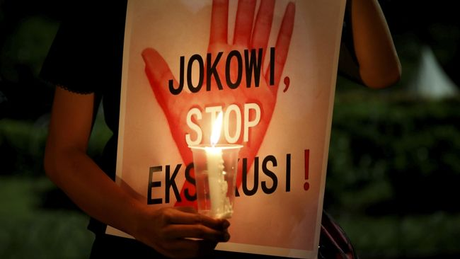 Eksekusi Mati 'Cacat', Jokowi Didesak Copot Jaksa Agung