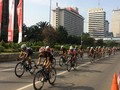 Jalanan Buruk Kurangi Pesona Jakarta di Mata Pebalap Sepeda