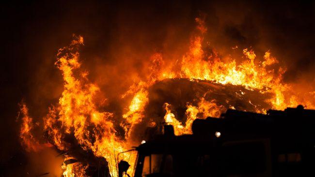 Tujuh Terduga Pembakar Wihara di Tanjung Balai Ditangkap