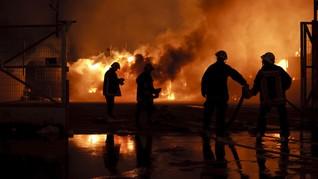 Kebakaran Pondok Bambu dan Cipinang Muara Akibat Korsleting