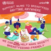 WHO menyebut ASI merupakan nutrisi terbaik bagi bayi. Karena itu WHO merekomendasikan pemberian ASI secara eksklusif sejak sejam pertama kelahiran hingga bayi berusia enam bulan. (Foto: WHO)