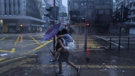 Topan Nida Menghantam, Aktivitas Hong Kong Lumpuh