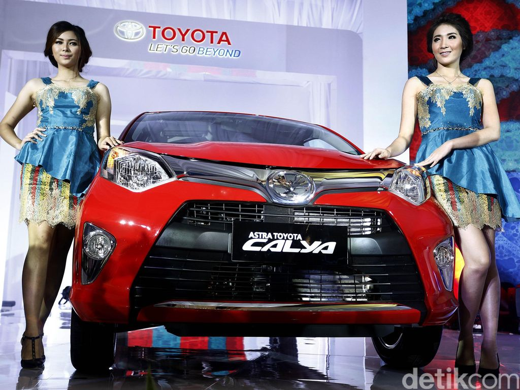 Di urutan ke-4 ada Toyota Calya yang terjual sebanyak 4.679 unit pada Februari 2018. Foto: Rengga Sancaya