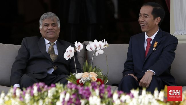 Jokowi Promosikan Kereta Api Produksi RI ke Sri Lanka