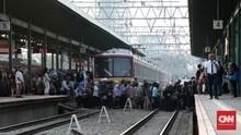 Revitalisasi Stasiun Manggarai, PT KCI Tutup Jalur 10
