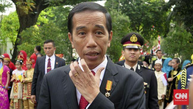 Jokowi: Logikanya Keluarga Uno Itu Dukungnya ke Pak Sandi