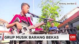 Lantunan Musik dari Rongsokan Motor