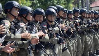 60 Brimob Kejar Kelompok Ali Kalora Penembak Polisi