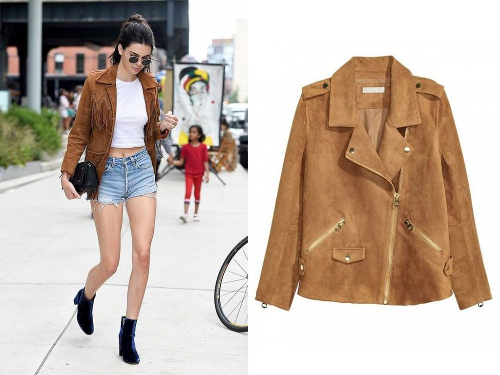 Editors Choice: Jaket Suede Stylish Terinspirasi 5 Seleb Fashionista
