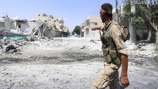 Bom Dekat Markas Koalisi AS di Suriah, 1 Orang Tewas