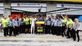 Di GP Austria yang merupakan seri kesembilan, Rio Haryanto finis di posisi buncit (16) sementara Pascal Wehrlein finis di posisi kesepuluh dan memberi poin debut untuk Manor Racing. (Manor Grand Prix Racing Ltd)