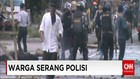 Bentrokan Polisi Dengan Warga