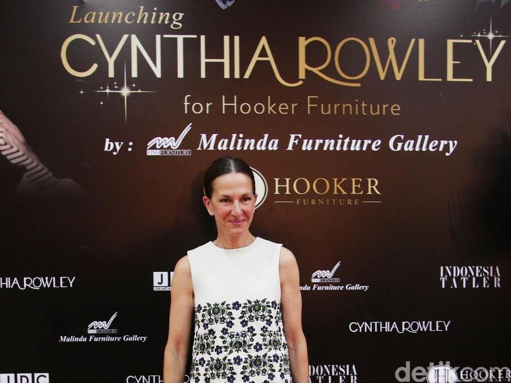 Desainer Amerika Cynthia Rowley Hadirkan Koleksi Furnitur Perdana di Jakarta