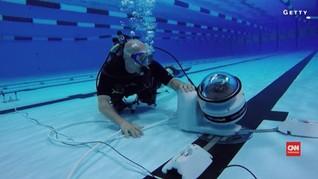 Rekam Perenang, Olimpiade 2016 Pakai Robot Kamera Bawah Air