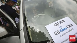 Mobil Grab, Uber dan GoCar Mulai Uji KIR