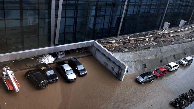 'Karena Banjir Setitik, Rusak Terminal 3 Sebelanga'