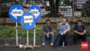 Ingin Diakui, Supir Taksi Online Uji Materi UU LLAJ ke MK