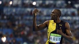 Bolt Juara Olimpiade dengan Tali Sepatu Terlepas