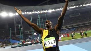 James Corden Menantang Usain Bolt Lomba Lari