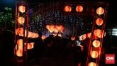 Pengelola Taman Cerdas Jebres, Hari Sapto, berharapfestival lampion merah putih serta acara seni budaya di Taman Cerdas Jebres bisa meningkatkan jumlah pengunjung taman. (CNNIndonesia/Andika Putra)