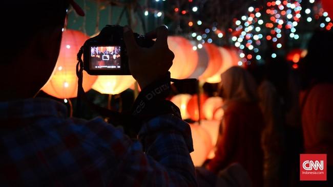 Apalagi dengan banyaknya foto-foto lampion merah putih di Taman Cerdas yang bertebaran di media sosial.