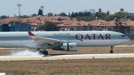 Burung Masuk ke Mesin, Pesawat Qatar Airways Mendarat Darurat