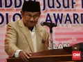 BJ Habibie Klaim yang Pertama Buka 'Keran' Kebebasan Pers