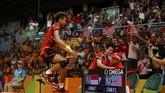 Setelah menjalani musim 2015 yang mengecewakan, Tontowi Ahmad/Liliyana Natsir berhasil jadi juara Olimpiade 2016. (REUTERS/Mike Blake)