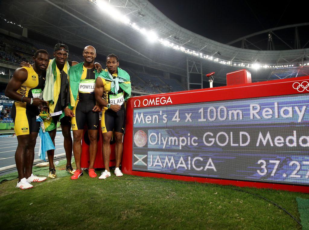 Kejuaraan Dunia 2017 itu sekaligus menandai 16 tahun karier Bolt di lintasan atletik sejak penampilan pertamanya di Kejuaraan Dunia Junior pada 2001.(Cameron Spencer/Getty Images)