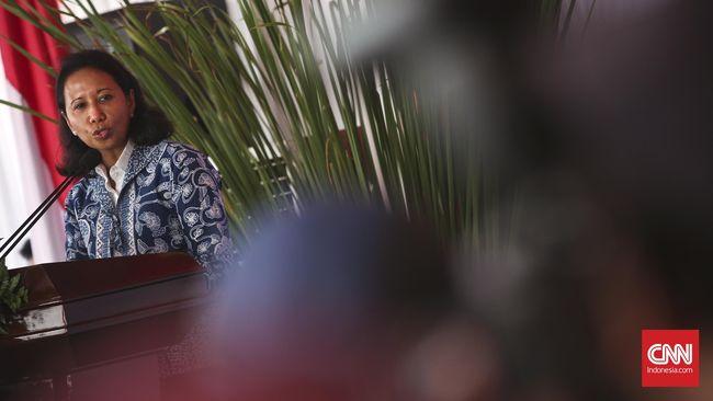 Menteri Rini Klaim Bank BUMN Masih 'Kebal' Pelemahan Rupiah