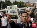 Sopir Taksi Online Keluhkan Aturan Menhub ke DPR