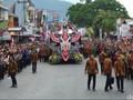 Keseruan Karnaval Kemerdekaan Pesona Danau Toba 2016