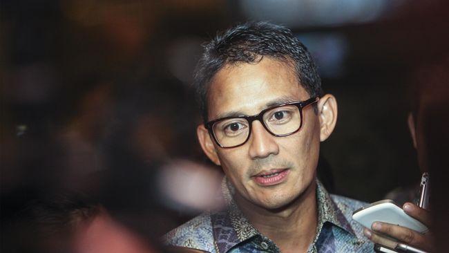 Belum Ada Keputusan, Prabowo Bawa Sandi Uno ke Rumahnya