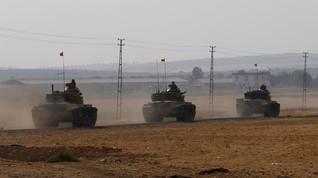 Tentara Turki Tiba di Suriah