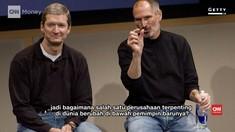 Perbedaan Apple di Tangan Tim Cook dan Steve Jobs