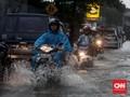 Hujan Deras Landa Jakarta, Sejumlah Ruas Jalan Tergenang