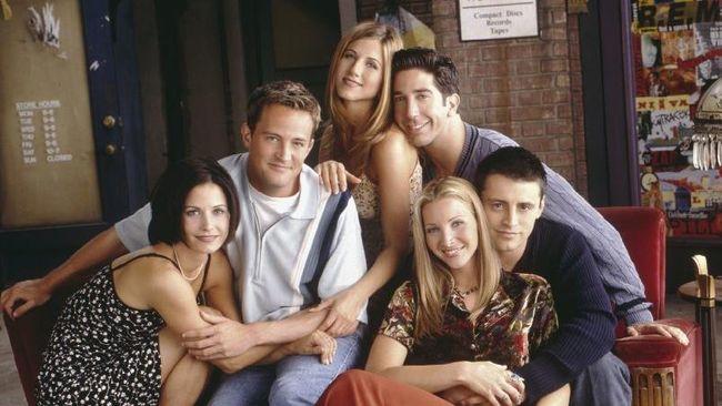 Diprotes Fan, Netflix Batal Hapus Serial 'Friends'