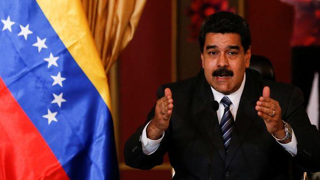 Maduro Janji Bawa Iktikad Baik ke Perundingan dengan Oposisi