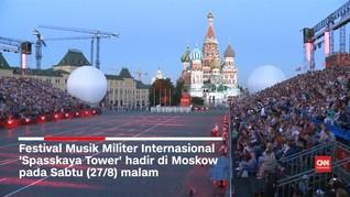 Festival Musik Militer Internasional Digelar di Moskow