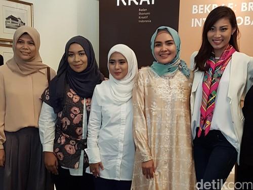 Ria Miranda dan Restu Anggraini Akan Pamer Karya Busana Muslim di Chicago, AS