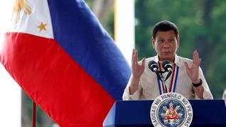 Duterte Deklarasikan Pemberontak Komunis sebagai Teroris