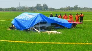 Kerusakan Mesin Diduga Penyebab Kecelakaan Pesawat di Cirebon