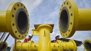 Pemerintah Resmikan <i>Groundbreaking</i> Pipa Gas Duri-Dumai