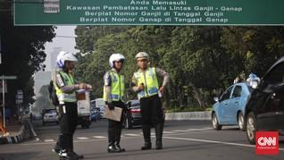 Kebijakan Ganjil Genap Jakarta Ditiadakan pada 1-9 Juni