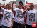 Karyawan Telkom Demo Tolak Penurunan Biaya Interkoneksi