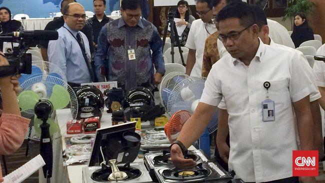 Kemendag Musnahkan Jutaan Produk Tak Sesuai SNI pada 2018