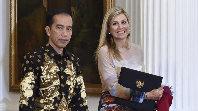 Jokowi Minta Ratu Belanda Bantu Permudah Akses Kredit UMKM