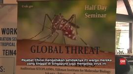 Seorang Warga Malaysia Positif Virus Zika