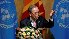 Ban Ki-moon: Donald Trump Harus Perhatikan Isu Kemanusiaan