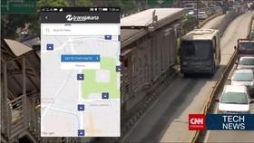 Transjakarta Terintegrasi dengan Teknologi